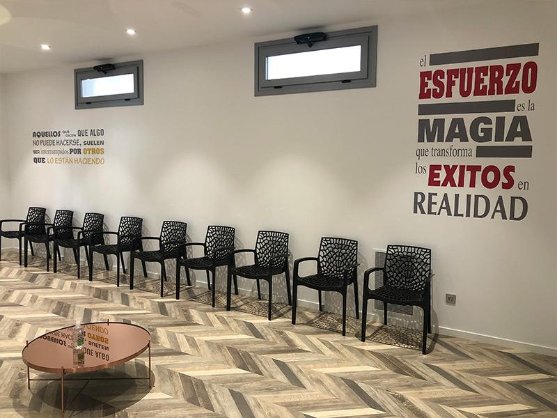 Sala de espera Heca Group