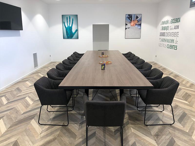 Sala de reuniones Heca Group